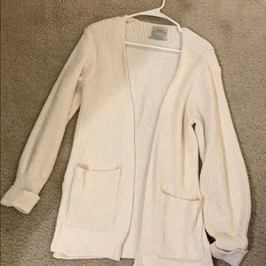 White urban outfitters cardigan